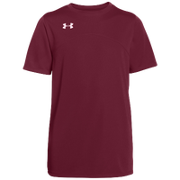 Under Armour Team Golazo Jersey - Boys' Grade School - Maroon / Maroon