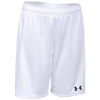 Under Armour Team Golazo Shorts - Boys' Grade School - All White / White