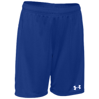 Under Armour Team Golazo Shorts - Boys' Grade School - Blue / Blue