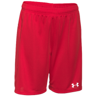 Under Armour Team Golazo Shorts - Boys' Grade School - Red / Red