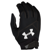 Under Armour Playoff Coldgear II Football Gloves - Men's - Black / White