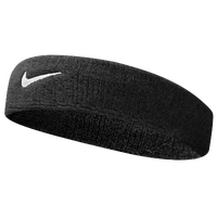 Nike Swoosh Headband - Men's - Black / White