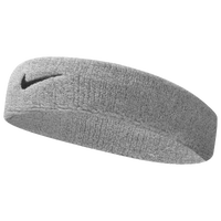 Nike Swoosh Headband - Men's - Grey / Black