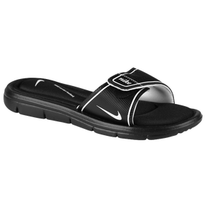 Nike Comfort Slide - Women's - Black/White