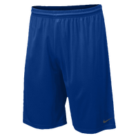 "Nike Team Fly 10"" Shorts - Men's - Blue / Grey"