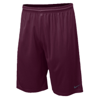 "Nike Team Fly 10"" Short - Men's - Maroon / Maroon"
