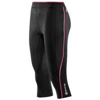 SKINS A200 Compression Capris - Women's - Black / Pink