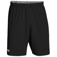 Under Armour Team Raid Shorts - Men's - Black / Black