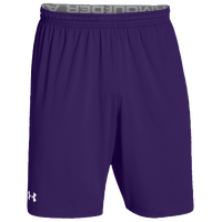 Under Armour Team Raid Shorts - Men's - Purple / Purple