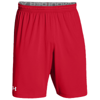 Under Armour Team Raid Shorts - Men's - Red / White