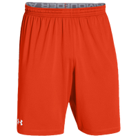 Under Armour Team Raid Shorts - Men's - Orange / Orange