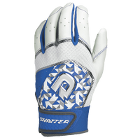 DeMarini Shatter Batting Gloves - Men's - White / Blue