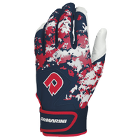 DeMarini Digi Camo Batting Gloves - Men's - Navy / Red