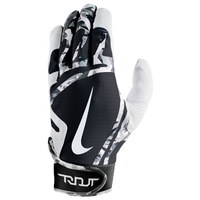 Nike Trout Edge Batting Gloves - Grade School - White / Black