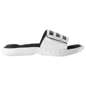 adidas Superstar 3G Slide - Men's - White/Black/Metallic Silver