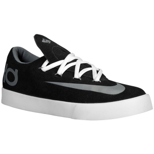 Nike KD Vulc - Boys' Grade School - Black/Cool Grey/White