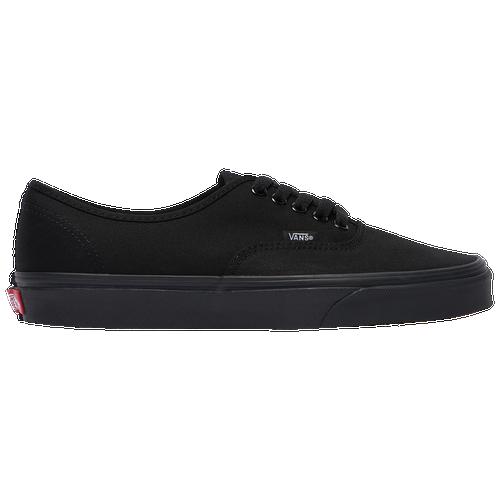 Vans Grey And Black