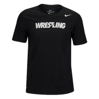 Nike Wrestling Tee - Men's - Black / White