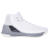 Under Armour Curry 3 - Boys' Preschool -  Stephen Curry - White / Silver