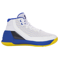 Under Armour Curry 3 - Boys' Preschool -  Stephen Curry - White / Blue