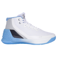 Under Armour Curry 3 - Boys' Preschool -  Stephen Curry - White / Light Blue