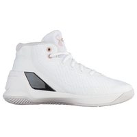 Under Armour Curry 3 - Girls' Preschool -  Stephen Curry - White / Black