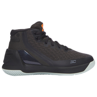 Under Armour Curry 3 - Boys' Preschool -  Stephen Curry - Dark Green / Black