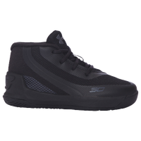 Under Armour Curry 3 - Boys' Toddler -  Stephen Curry - All Black / Black