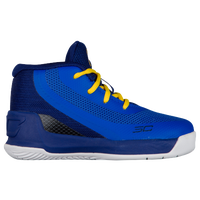 Under Armour Curry 3 - Boys' Toddler -  Stephen Curry - Blue / Yellow