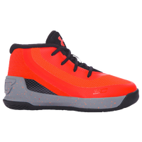Under Armour Curry 3 - Boys' Toddler -  Stephen Curry - Orange / Grey