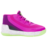 Under Armour Curry 3 - Girls' Toddler -  Stephen Curry - Pink / Purple