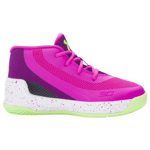 Under Armour Curry 3 Girls Toddler Basketball Shoes