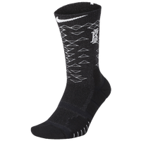 Nike Kyrie Elite Quick Crew Socks -  Kyrie Irving - Black / Black