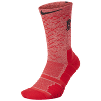 Nike Kyrie Elite Quick Crew Socks -  Kyrie Irving - Red / Red