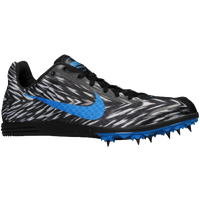 Nike Zoom Rival D 8 - Boys' Grade School - Black / Light Blue