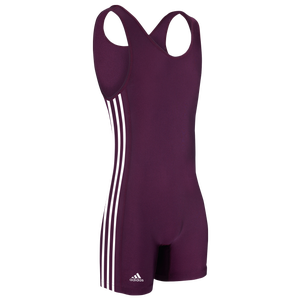 adidas aS102s Singlet - Men's - Maroon/White