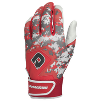 DeMarini Digi Camo Batting Gloves - Grade School - Red / Grey