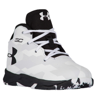Under Armour Curry 2.5 - Boys' Toddler -  Stephen Curry - White / Black