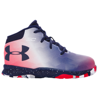 Under Armour Curry 2.5 - Boys' Toddler -  Stephen Curry - Navy / Red
