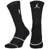 Jordan NBA Elite Quick Crew - NBA League Gear - Black / White