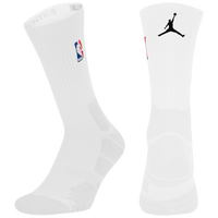 Jordan NBA Elite Quick Crew - NBA League Gear - White / Black