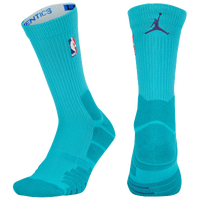 Jordan NBA Elite Quick Crew - NBA League Gear - Aqua / Purple