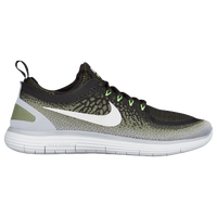 Nike Free RN Distance 2 - Men's - Dark Green / Olive Green