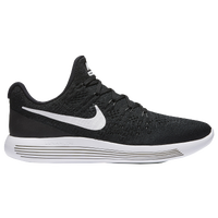 Nike LunarEpic Low Flyknit 2 - Men's - Black / White