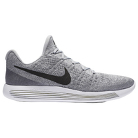 Nike LunarEpic Low Flyknit 2 - Men's - Grey / Black