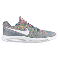 Nike LunarEpic Low Flyknit 2 - Men's - Grey / White