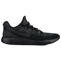 Nike LunarEpic Low Flyknit 2 - Men's - Black / Grey