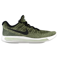 Nike LunarEpic Low Flyknit 2 - Men's - Olive Green / Black