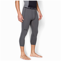 Under Armour HeatGear Armour 3/4 Compression Tights - Men's - Grey / Black