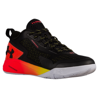 Under Armour Clutchfit Drive 2 Low - Men's -  Emmanuel Mudiay - Black / Orange